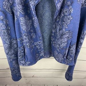 Anthropologie Jackets & Coats - Anthro |Knitted & Knotted Purple Nightshade Blazer